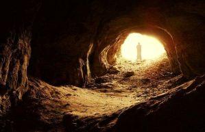 Elija in der Höhle am Berg Horeb